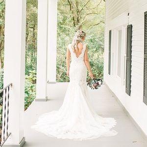 Casablanca Wedding Dress style 2306 Savannah sz 6